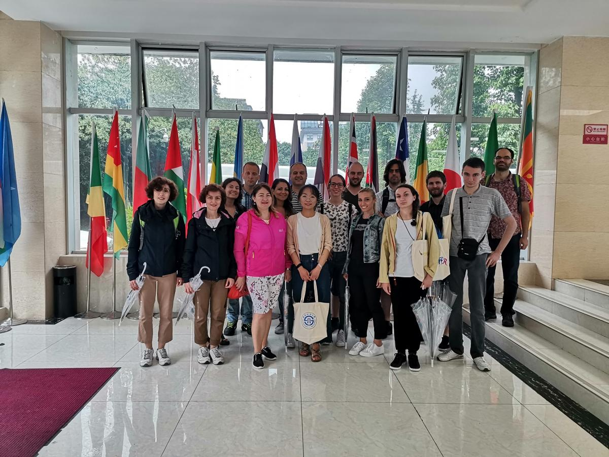 Humanities exchanges have become a common practice, and civilization has improved each other's friendship. ——The students of the Confucius Institute at St. Cyril's and Methodius University went to China to participate in the Chinese Studies Program of SWUFE and the opening ceremony of the Confucius Institute Summer Camp in Central and Eastern Europe.