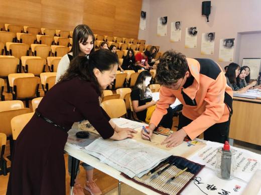 Chinese culture exhibition in NOVA International School