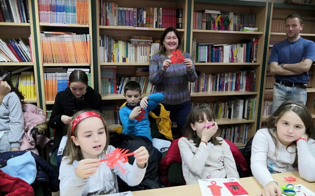 Happy New Year ——The Confucius Institute at Ss. Cyril and Methodius University in Skopje organized a lecture about Spring Festival customs